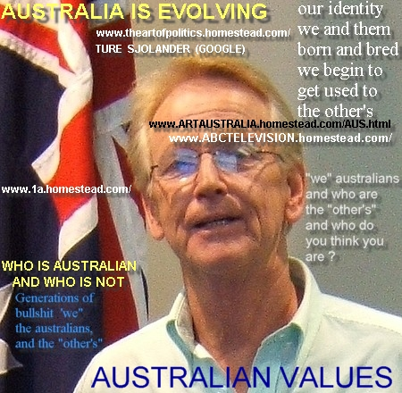 AUSTRALIAN VALUES are not STATIC,  2007